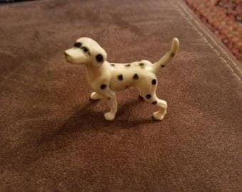 """Lot of 2, Vintage Dalmatian Dog Figures.  Larger on is """"anatomically correct"""""""