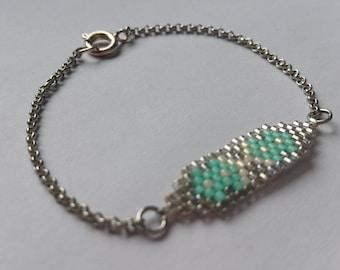 Miyuki Mint bracelet