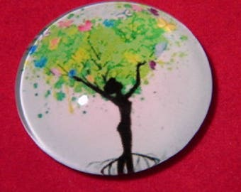 "30mm, tree of life ""woman"""