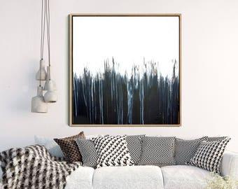Black And White Art, Abstract Print, Abstract Art, Minimalist Art Print, Giclee Print, Home Decor, Wall Decor, Large Wall Art