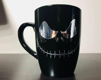 Jack Skellington Coffee Mug/ Nightmare Before Christmas Mug