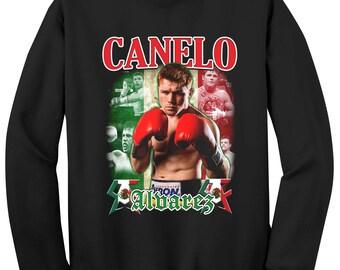 Canelo Alvarez Crewneck Sweater Shirt