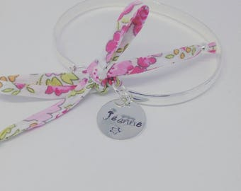 Personalized Bangle with personalized engraving by Palilo star