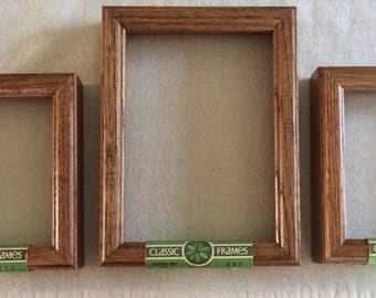 wooden frames oak shadow box frames picture frames frames for cross stitch