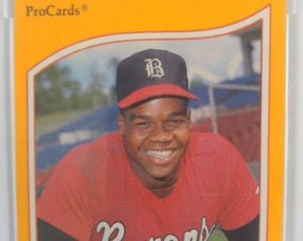 1990 Pro Card Frank Thomas Rookie Baseball card.(minor league) Graded mint by Beckett