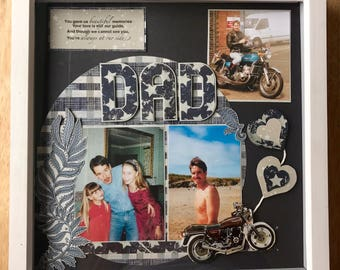 Memory Frame, Personalised Frame, Dad, In Memory,