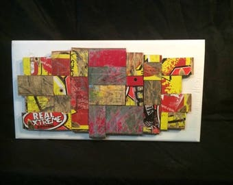 Sk8boardcreationz Used Skateboard Wall Art 6in x 12in