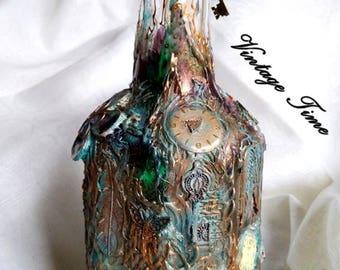 Steampunk bottle - 3