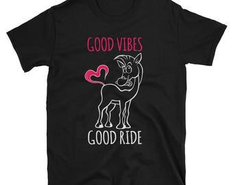 Good Vibes Good Ride Unisex T-Shirt