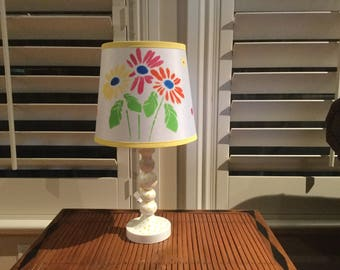 Accent flower lamp