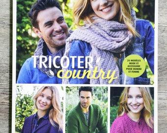 NEW - Knit country - 20 fashion patterns