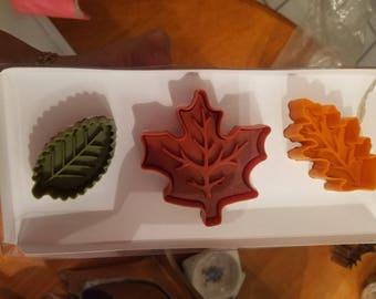 Fall Cookie Leaf Cutters