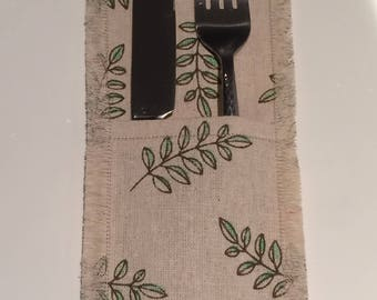 Handmade Cutlery Holder / Pouch