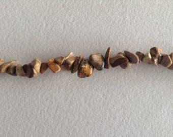 Stone Jasper chips x 10 cm