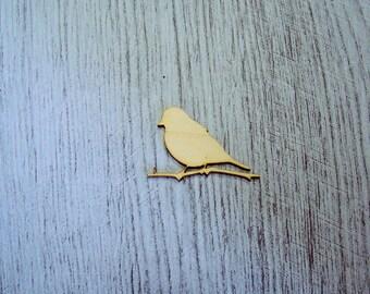little bird 1335 embellishment wooden creations