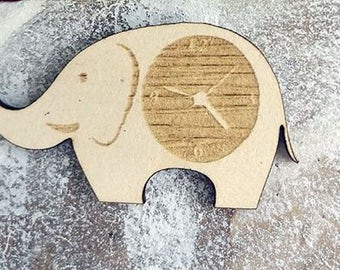 elephant 145 embellishment wooden creations