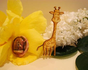 Giraffe pt size 01750a for your scrapbooking pages