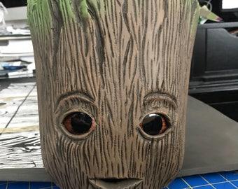 Baby Groot headmask