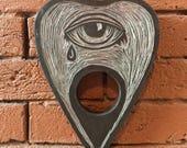 Silver Eye Planchette...