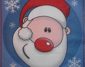 104 Santa Claus napkin