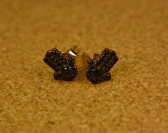 Handmade silver 925 women earrings fatime hand