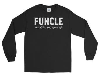 Funcle the fun uncle Long Sleeve T-Shirt