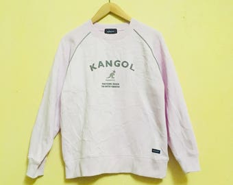 RARE!!! Kangol Big Logo Spell Out Sweatshirt