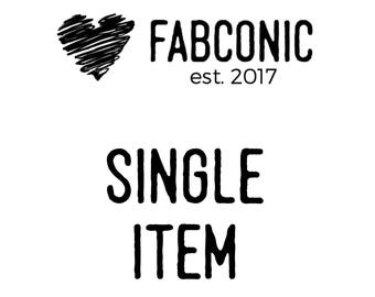 Single Item listing