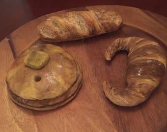 Handmade breads Decoration