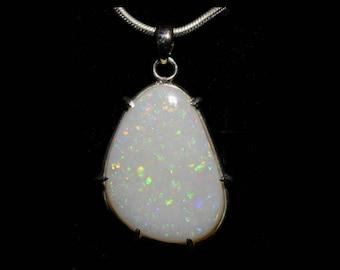Stunning Coober Pedy Opal Pendant 003A