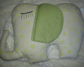 """Elephant"" pillow"
