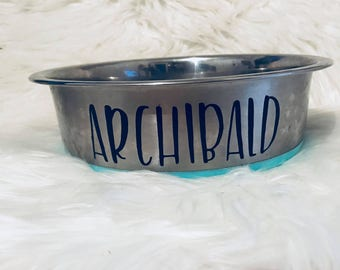 Pet Bowl Decals