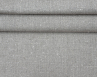 100% Linen Fabric 280g/m2 Natural Not Dyed 1meter/1,1 yard