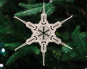 Jordan River Utah Temple Christmas Ornament