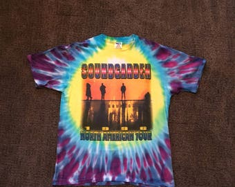 Vintage Soundgarden Authentic Concert Tee Shirt 1996