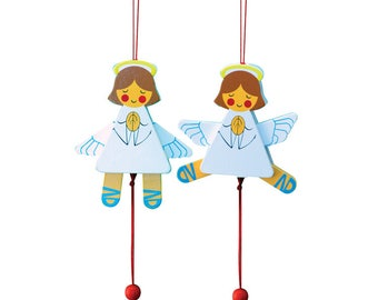 Angel Jumping Jack  Decorations