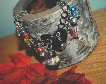 Abracadabra Bead & Charm Bracelet