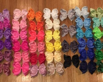Colorfull Bows, Multicolor Bow Set