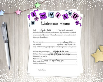 Baby Shower Games, Welcome Home Baby, Printable Baby Shower Games, Digital Baby Shower Games