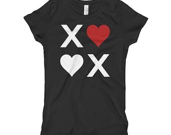 XOXO Hugs & Kisses Love Girl's T-Shirt