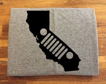 California Jeep Shirt