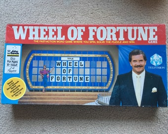 Vintage Wheel of Fortune Board Game