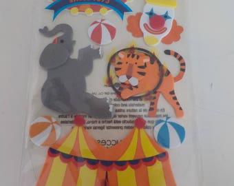 Jolee's Circus, Carnival Scrapbook Stickers
