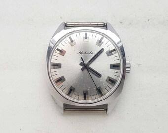 Vintage Soviet Mechanical watch Raketa. USSR