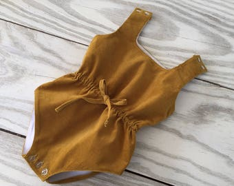 Velvet Romper for babygirl