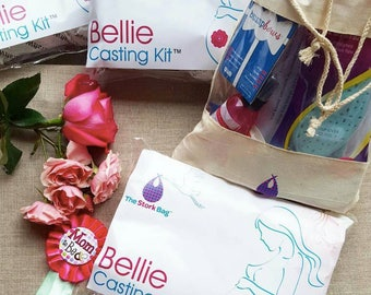 DIY Pregnancy Belly Casting Kit Perfect for new moms, first time moms and all expectant moms. Great baby shower and push present.