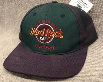 Hard Rock Cafe London Hat Save The Planet SnapBack Love Serve Authentic Cap 1725