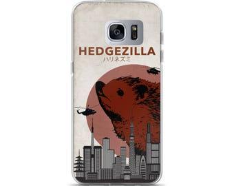 Hedgezilla Hedgehog Kaiju Humor Samsung Phone Case For Hedgehog Fan