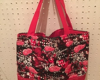Detroit Red Wings purse/tote
