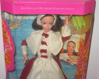 1994 Pilgrim Barbie - American Stories Pilgrim Barbie - 1994 Special Edition Barbies NRFB